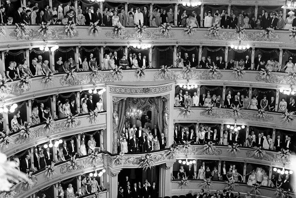 61 anni fa alla Scala…